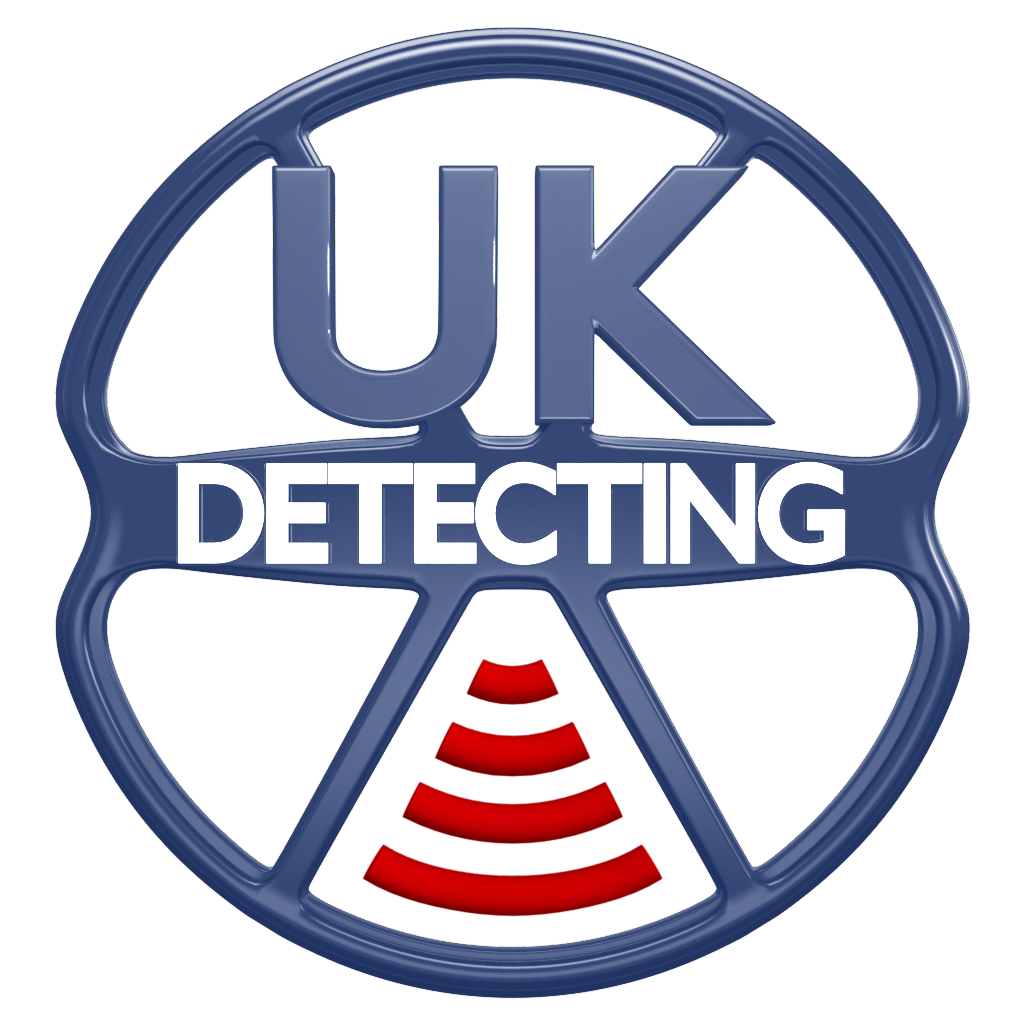 Logo (BLUE) for UKdetecting.com - go to Home Page